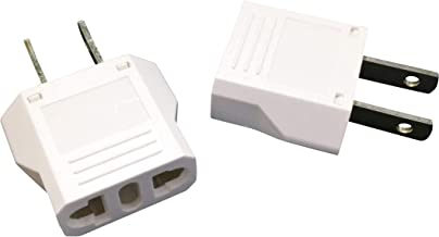 Best Unidapt EU Europe to US USA Travel Plug Adapter Power Converter AC (Pack of 2) Review