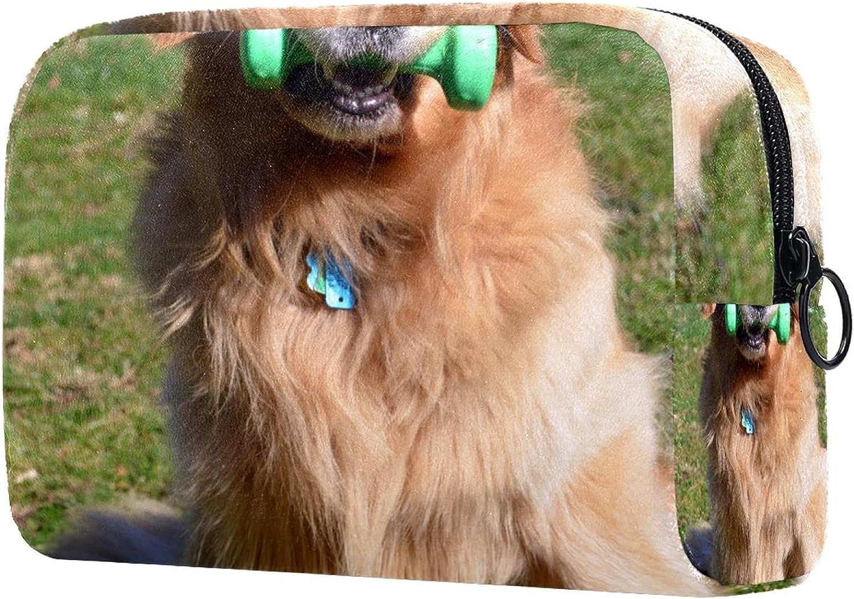 Makeup Bag Coin purse Free shipping / New golden Cosmetic Wholesale dog retriever