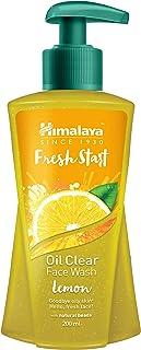 Himalaya Fresh Start Oil Clear Face Wash, Lemon, 200ml