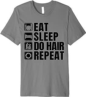 Hairdresser Lover Gift Funny Hairdresser Apparel Barber Premium T-Shirt