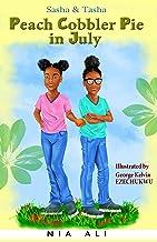 Sasha and Tasha: Peach Cobbler Pie in July