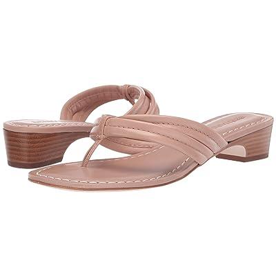 Bernardo Miami Demi Heel Sandals (Blush Antique Calf) Women