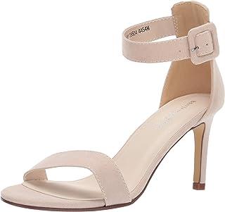 Touch Ups Women's Shea Heeled Sandal, Beige, 8 M US