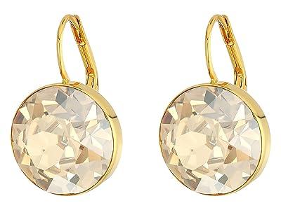 Swarovski Bella Pierced Earrings (Gold) Earring