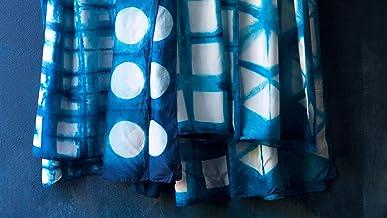 Customize a Japanese-style silk scarf with Australia's most famous indigo artisans