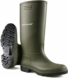 Bottes en caoutchouc unisexes entièrement imperméables pour la neige, la pluie, la boue