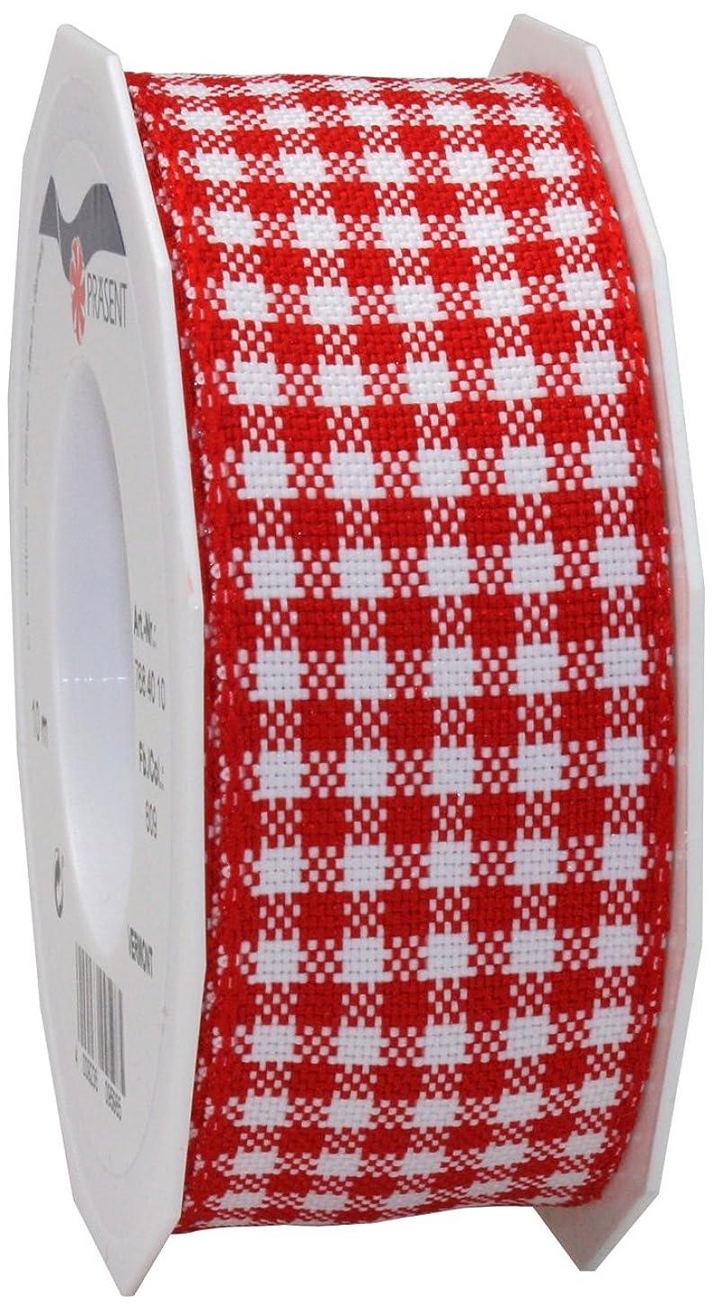 Morex Ribbon Polyester Vermont Plaid Ribbon, 1-1/2
