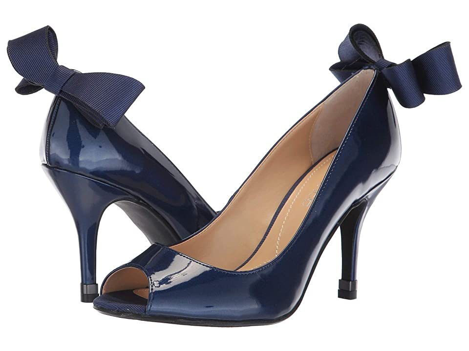 J. Renee Ellasee (Navy) High Heels