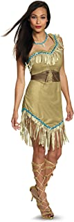 Womens Deluxe Pocahontas Costume