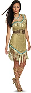 Disney Disguise Women's Pocahontas Deluxe Adult Costume, Multi, Small