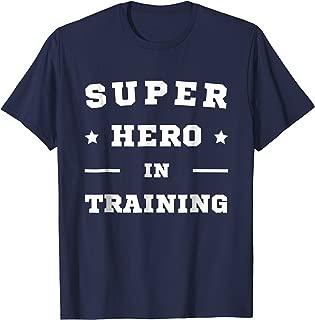 hero in training shirt