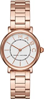 Marc Jacobs Women's Quartz Watch Analog Display and Stainless Steel Strap, MJ3527