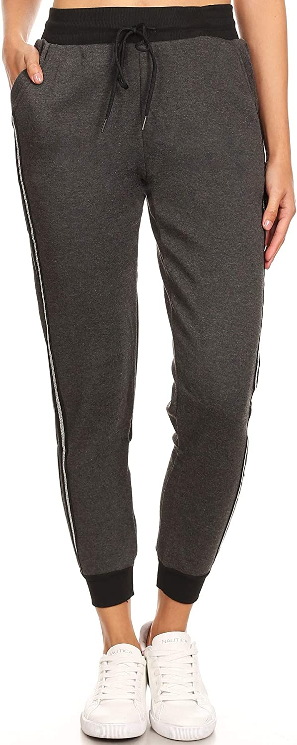 Women's Super Soft Sherpa FurLined Jogger Sweatpants with Pockets