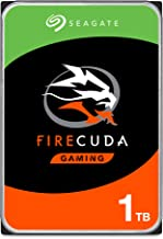 Seagate FireCuda 1TB Solid State Hybrid Drive Performance SSHD – 3.5 Inch SATA 6Gb/s Flash Accelerated for Gaming PC Desktop – Frustration Free Packaging (ST1000DX002)