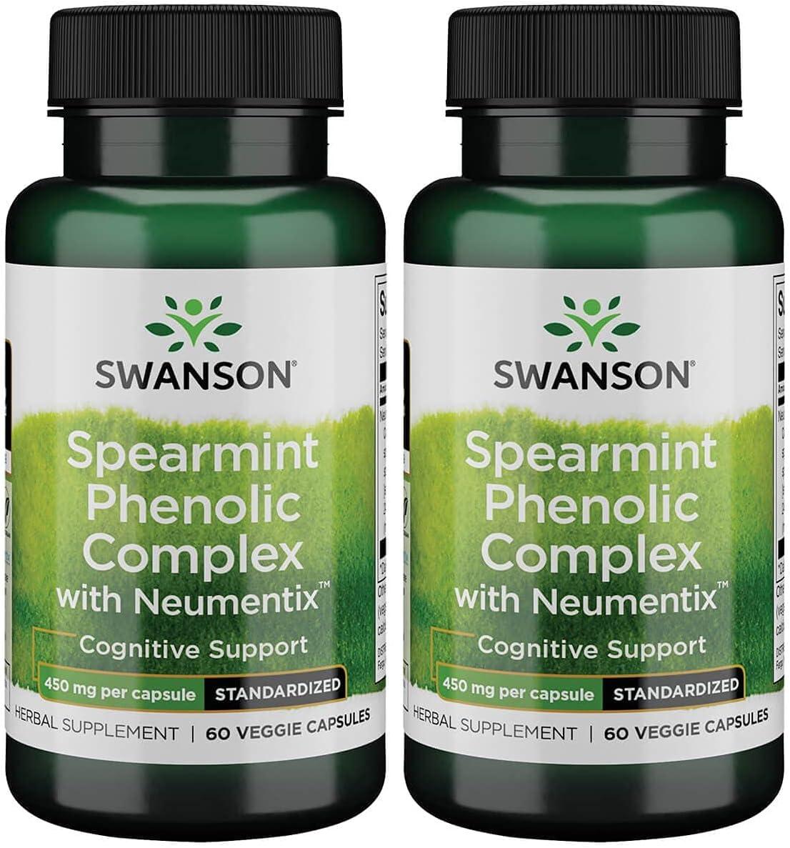 Swanson クリアランスsale!期間限定! Spearmint メーカー公式ショップ Phenolic Complex w Neumentix Milligrams 450 60