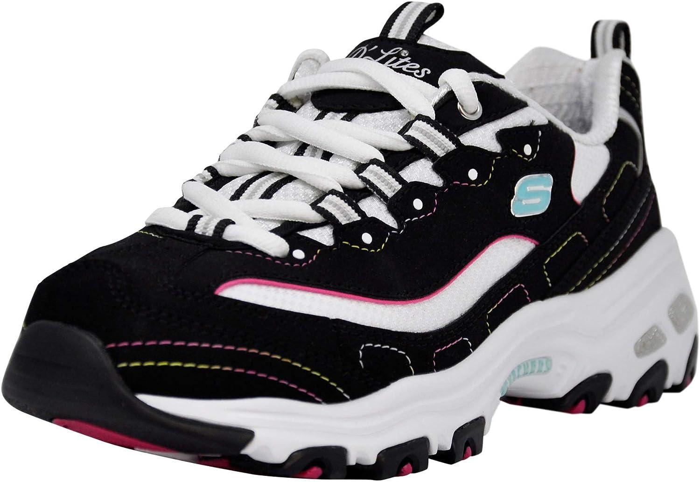 Skechers Sport Women's D'Lites Our shop most popular Indefinitely Non-Memory Original Lace-Up Foam