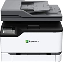 $279 » Lexmark MC3326adwe Color Multifunction Laser Printer with Print, Copy, Fax, Scan and Wireless Capabilities, Two-Sided Printing with Full-Spectrum Security and Prints Up to 26 ppm (40N9060)
