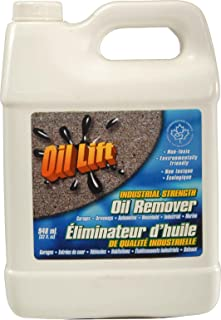 Oillift Industrial Strength Concentrated Non Toxic Oil Remover Removes Oil from Cement, Asphalt and Most Surfaces Cleans up Oil from Garage Floors and driveways