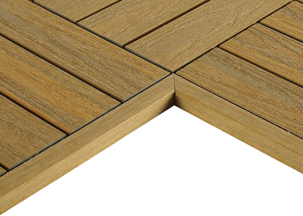 55% Sales of SALE items from new works OFF NewTechWood US-QD-IT-ZX-OK 1 6 x Deck Tile Quick Composite ft.