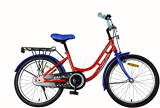 """Vaux Bicycle for Kids- Vaux Pearl Lady 20T Kids Bicycle for Girls. Ideal for Cyclist with Height (3'11"""" – 4'3"""") – Blue/Orange."""