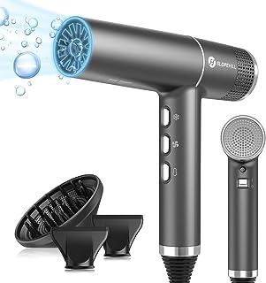 slopehill Secador de pelo con motor sin escobillas único | IQ Perfetto | Microfiltro innovador | Tecnología Oxy Active | Pantalla Led