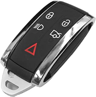 Replacement Remote Keyless Fob Key Case ( Shell ) For Jaguar X S-Type XF XK XKR 5B KR55WK49244
