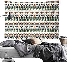 dsdsgog Door Curtain Mexican,Latin American Cultural Native Borders Indigenous Saguaro Sombrero Tequila Bottle,Multicolor,W90 xL60 Wall Cloth