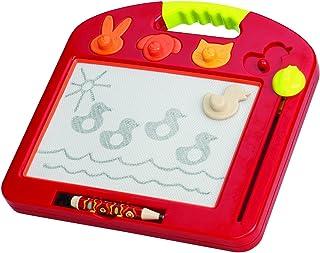 B. toys – Toulouse LapTrec – Ardoise magique portable avec timbres en forme d'animal – pour enfants 18 mois et +