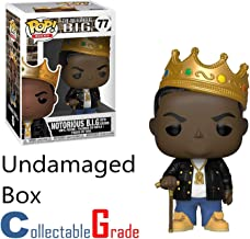 CollectableGrade - Without Any Damage to The Box, Guaranteed! Funko Pop Rocks: Notorious B.I.G. Collectible Figure - Bundle - 2 Items, Protector Box and Notorious B.I.G. Funko Pop.