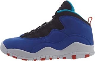 cheap for discount 1829c 27c45 Nike Air Jordan 10 Retro Big Kid s Shoe Racer Blue Team Orange Black 310806