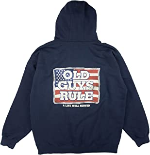 A Life Well Served Flag Zip Up Hoodie