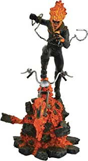 DIAMOND SELECT TOYS Marvel Milestones: Ghost Rider Resin Statue, Multicolor
