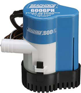 SEACHOICE PROD Submersible 600 GPH 12V 2 Amp Automatic Bilge Pump