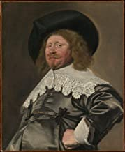 Fine Art Print - Frans Hals - Portrait of a Man, Possibly Nicolaes Pietersz Duyst Van Voorhout (Born About 1600, Died 1650) - Vintage Wall Art - 11in x 14in