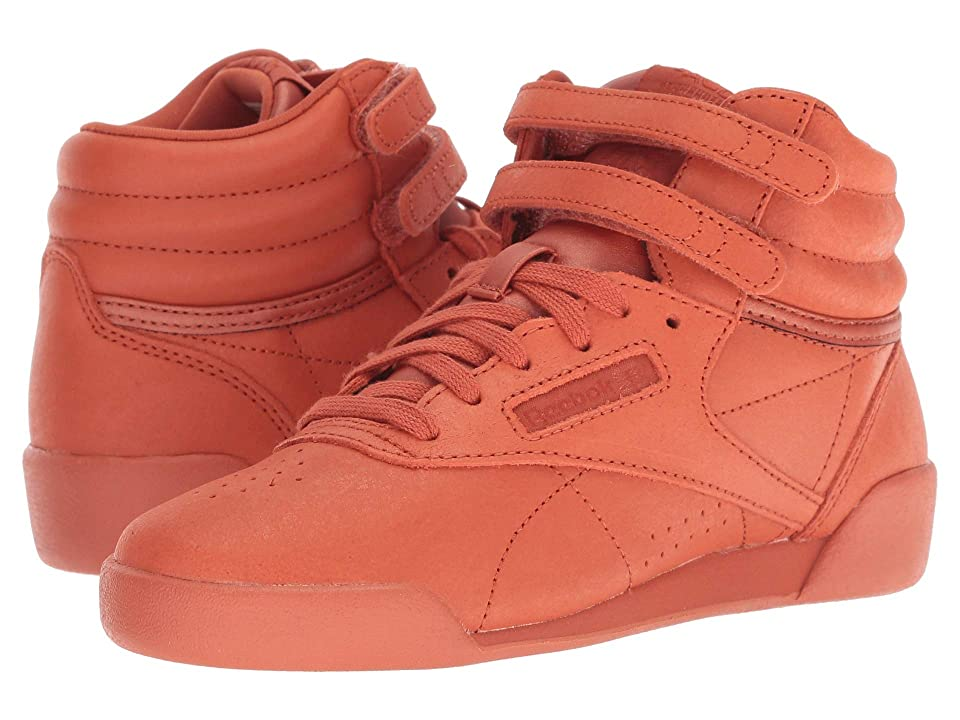 Reebok Kids Freestyle Hi (Little Kid) (Mars Dust) Girl