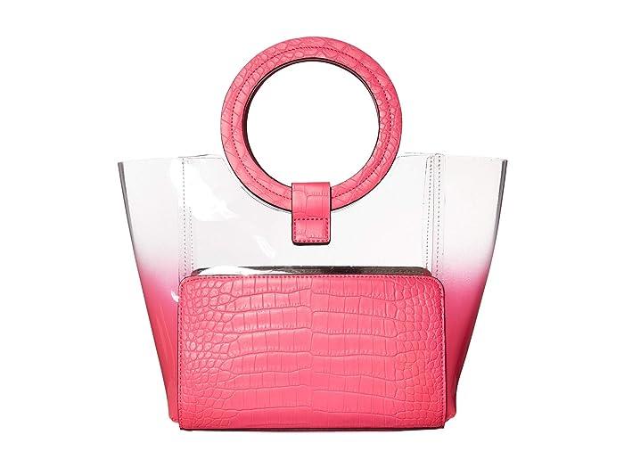 Vince Camuto  Clea Small Tote (Neon Fuchsia) Handbags