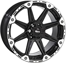 Dick Cepek Torque Flat Black Wheel with Machined Accents (20x9
