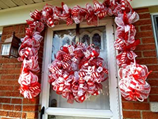 Best christmas candy cane garland Reviews
