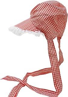 gingham bonnet