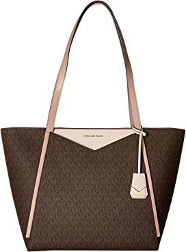 e0f3b72ab9ce MICHAEL Michael Kors Whitney Large Top Zip Tote at Zappos.com