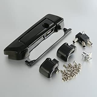 Black Tour Pak Pack Trunk Latch For Harley HD Touring Glide FLHT FLHX 2014-2017