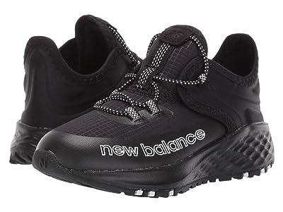 New Balance Kids Fresh Foam Roav Trail (Infant/Toddler) (Black/White) Boy