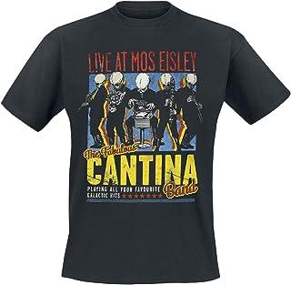 Bravado Star Wars-The Fabulous Cantina Band Camiseta para Hombre
