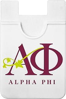 Sorority Shop Alpha Phi - Koala Pouch - Adhesive Cell Phone Wallet