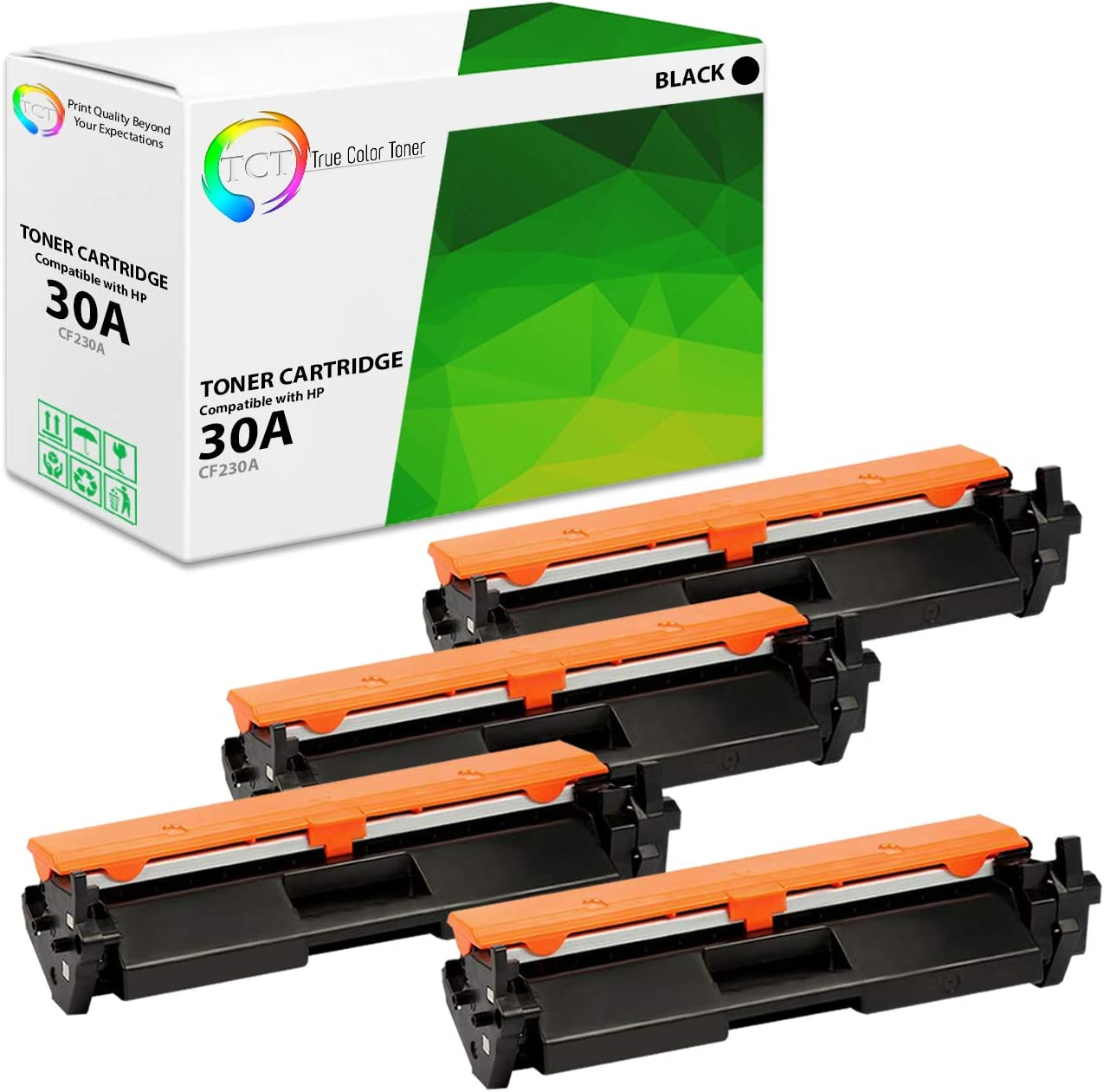 TCT Deluxe Premium Compatible Toner Cartridge Max 67% OFF 30A Replacement for HP CF