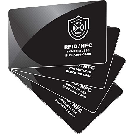 RFID Bank Card Blocking Contactless Debit Credit Protector Wallets Holder S L3F7