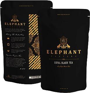 Royal Black Tea | 200 Grams | Extra Special Ceylon Loose Leaf | 100 Cups Delicious Iced & Hot Tea | English Breakfast & Af...