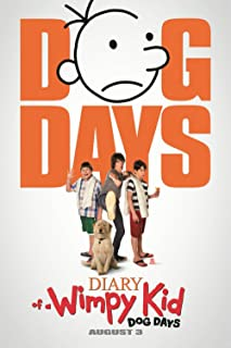 Twenty-three Diary Of A Wimpy Kid: Dog Days Movie Classic Poster Home Decoration canvas poster 24X36Inch