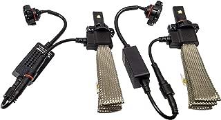 Jupiter H10 LED Headlight Conversion Kit Fanless Copper Belt Bright White Light Bulbs