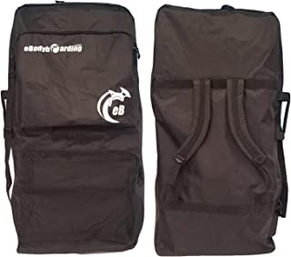 Large Bodyboard Travel Bag | 2 Board Sponge Sack | Black Day Use